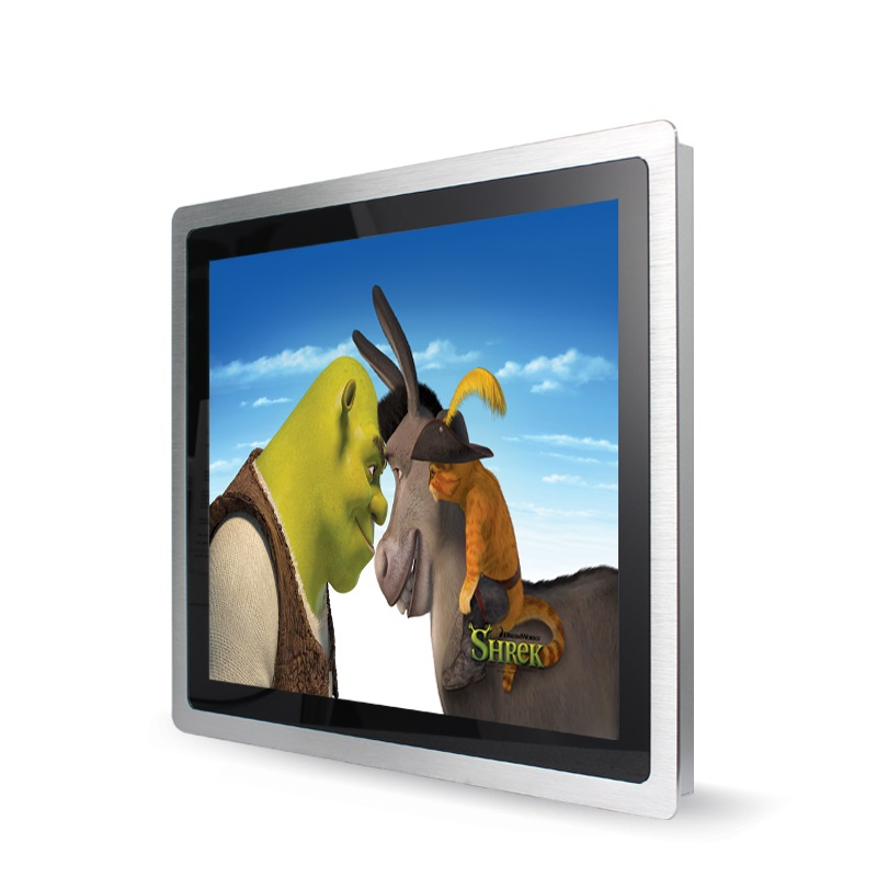 3mm Bezel Aluminum Embedded Industrial Monitor