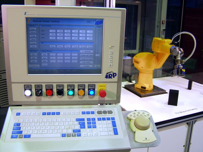 What is an embedded control system