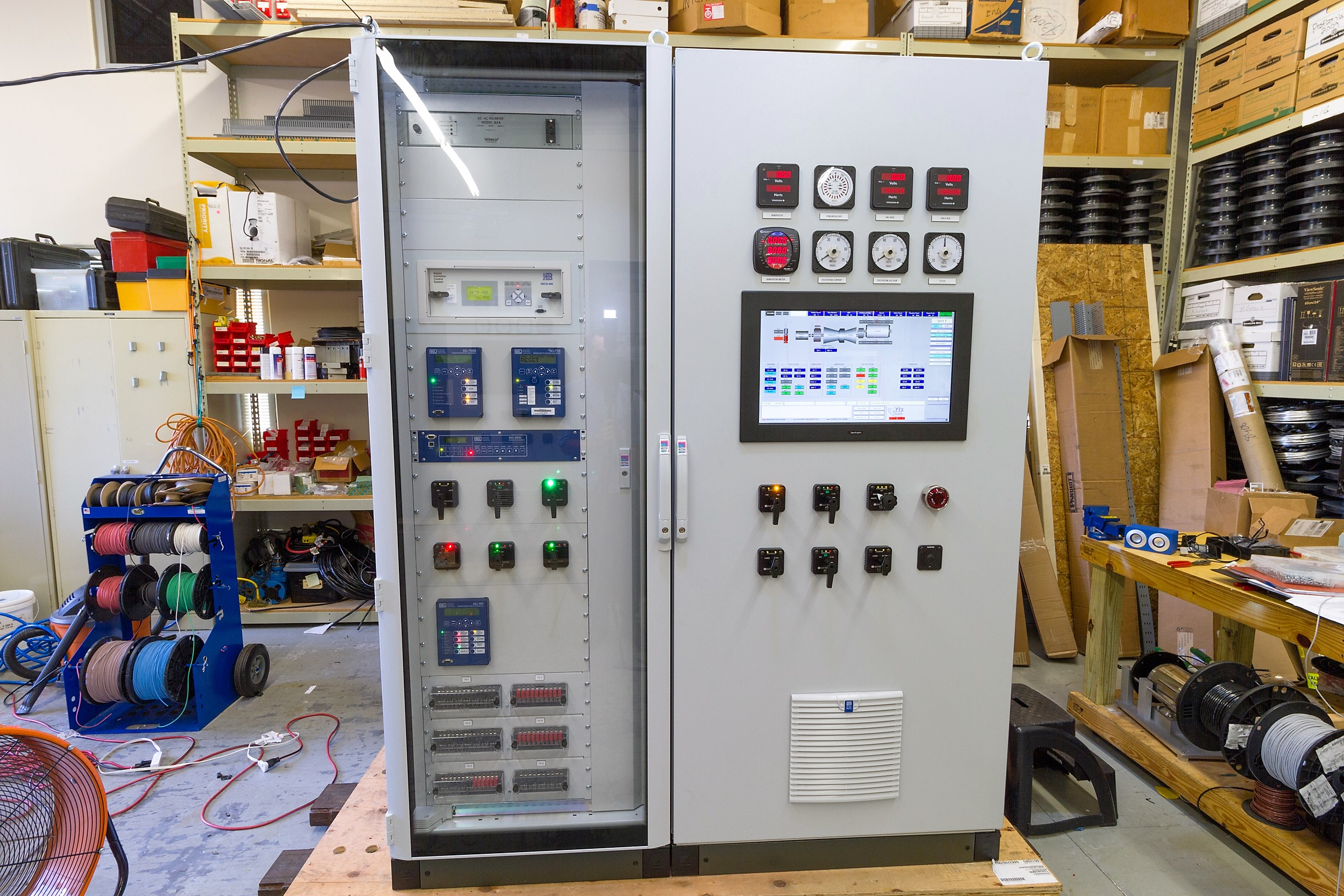 Industrial Automation Display